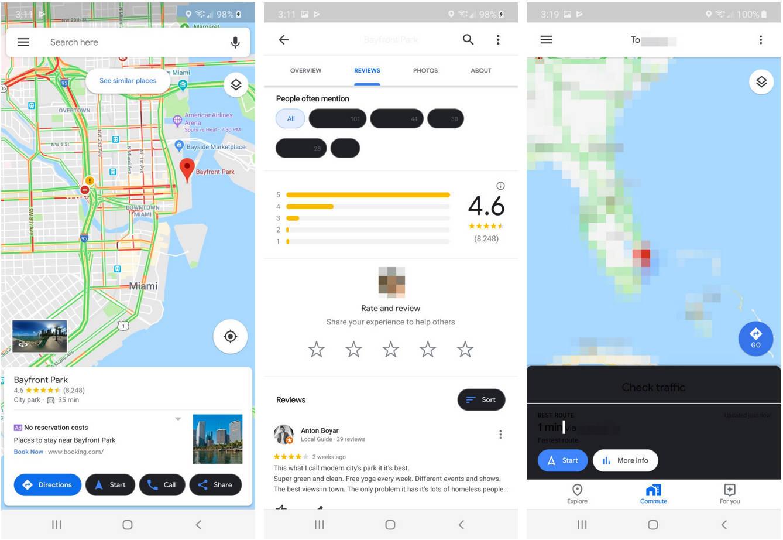 Mapy Google Maps tryb ciemny motyw kiedy dark mode