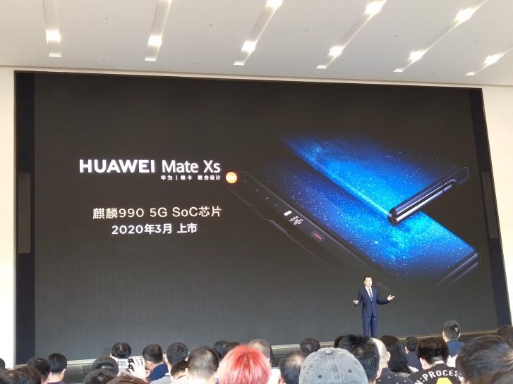 Składany smartfon Huawei Mate Xs kiedy premiera plotki przecieki wycieki cena specyfikacja techniczna opinie