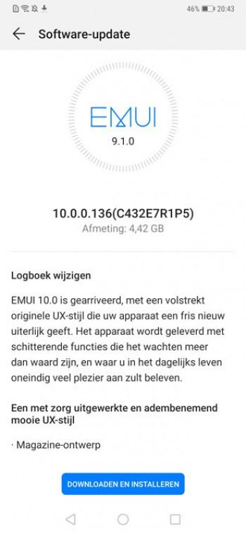 Huawei Mate 20 Pro aktualizacja do EMUI 10 z Android 10 opnie gdzie pobrać