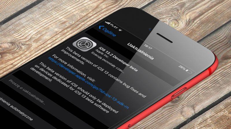 iOS 13.2 beta 3 co nowego nowe emoji aktualizacja Apple iPhone opinie czy warto instalować