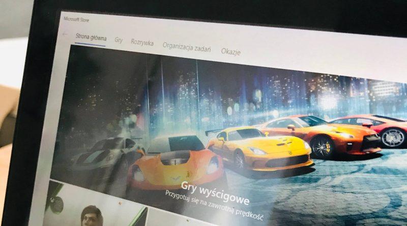Microsoft store sklep Windiws 10 nowe kategorie