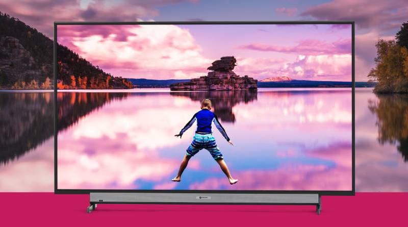 """Motorola TV 75"""" cena premiera gdzie kupić najtaniej w Polsce telewizor Smart TV z Android TV"""