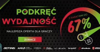 Promocja w sklepie Sferis z okazji Poznań Game Arena