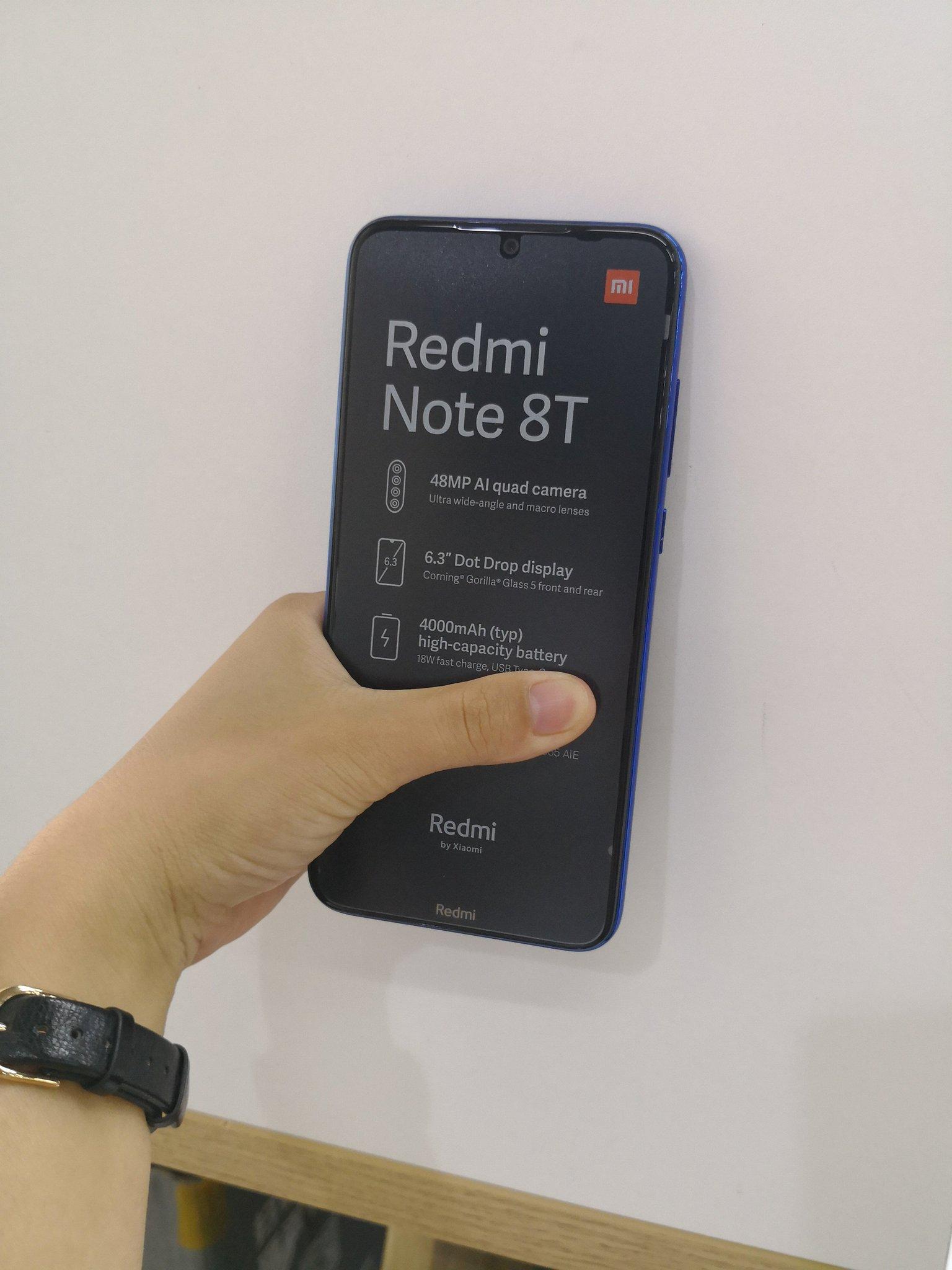 Xiaomi Redmi Note 8T cena kiedy premiera plotki przecieki wycieki specyfikacja techniczna gdzie kupić najtaniej w Polsce