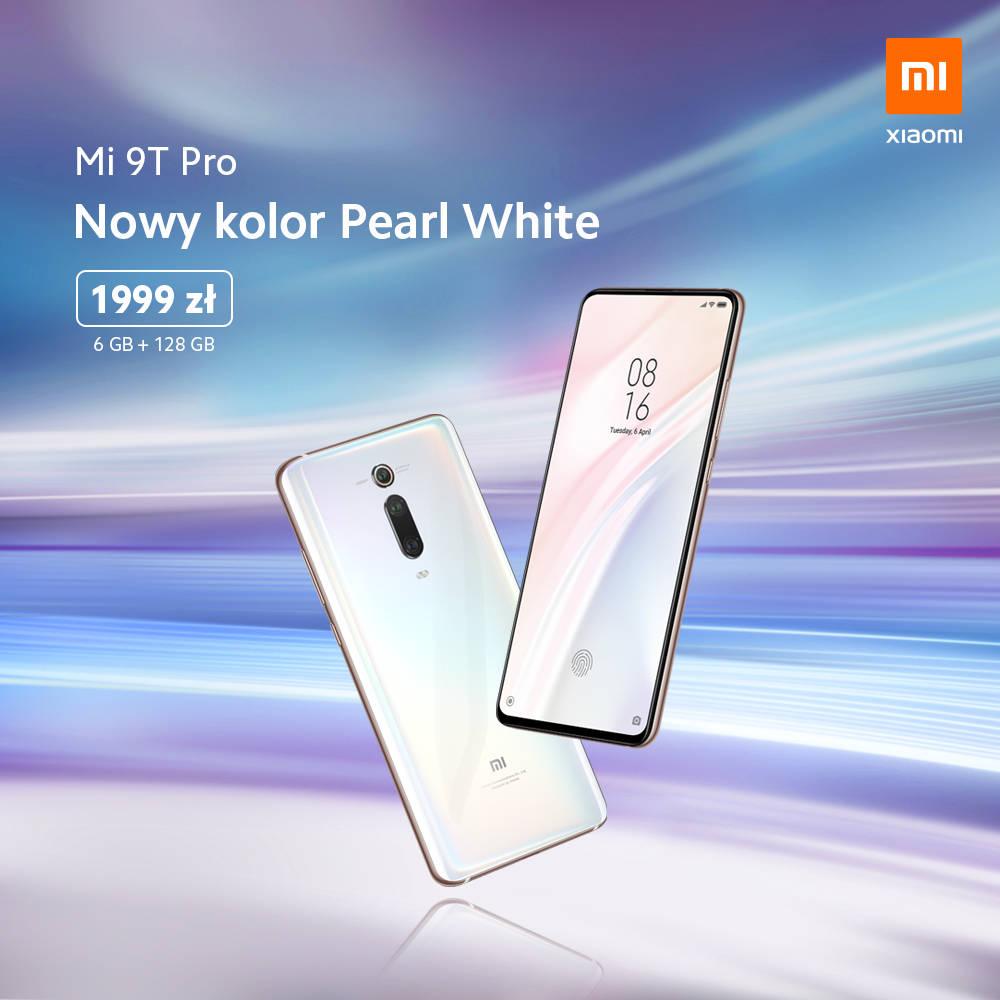 Xiaomi Mi 9T Pro cena Pearl White opinie gdzie kupić najtaniej w Polsce