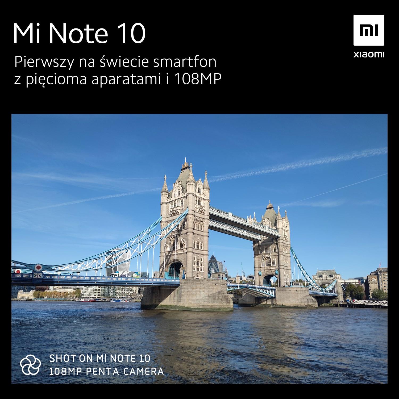 Xiaomi Mi Note 10 kiedy premiera próbki zdjęć specyfikacja techniczna opinie aparat plotki