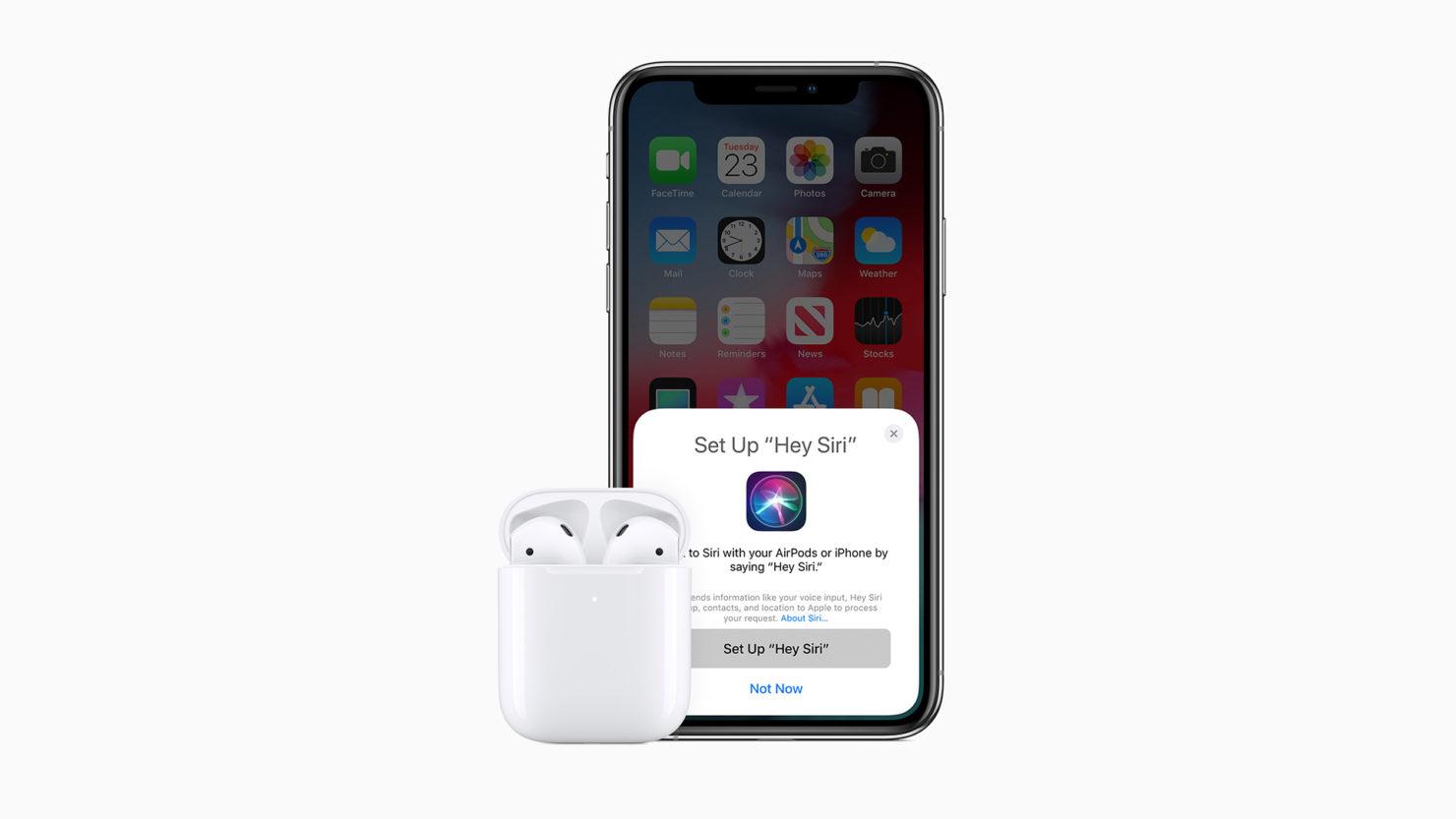 Apple darmowe słuchawki bezprzewodowe AirPods iPhone 12 2020