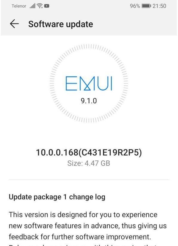 EMUI 10 Stable aktualizacja dla Huawei P30 Pro dostępna kiedy w Polsce Europie
