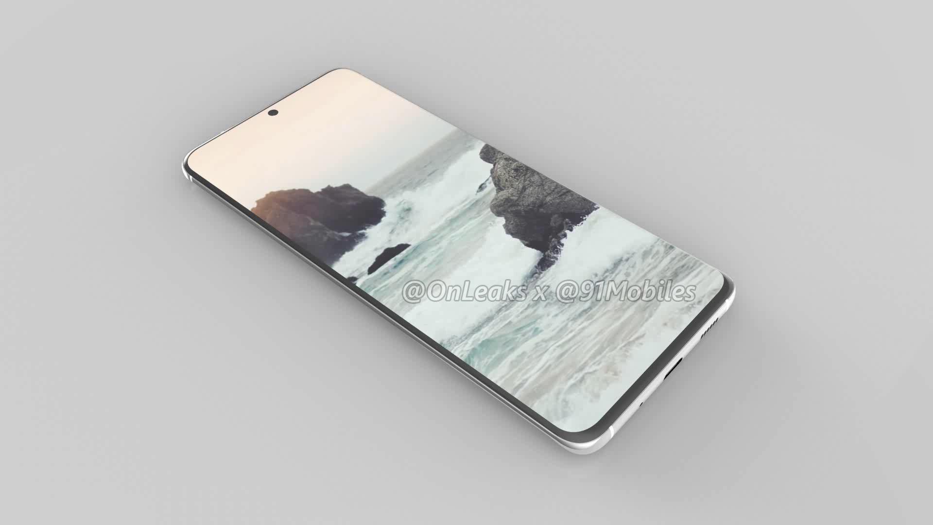 Samsung Galaxy S11 rendery Onleaks specyfikacja techniczna kiedy premiera plotki przecieki wycieki