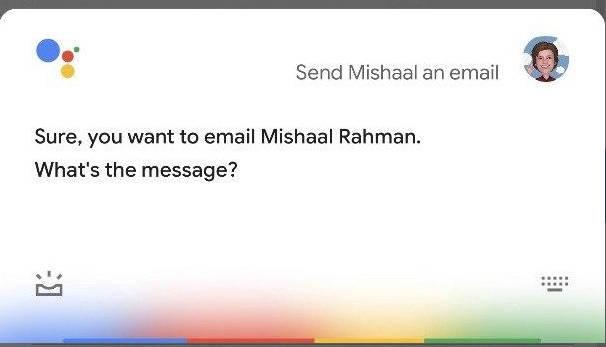 Nowy Asystent Google z Pixel 4 dyktowanie maili Gmail