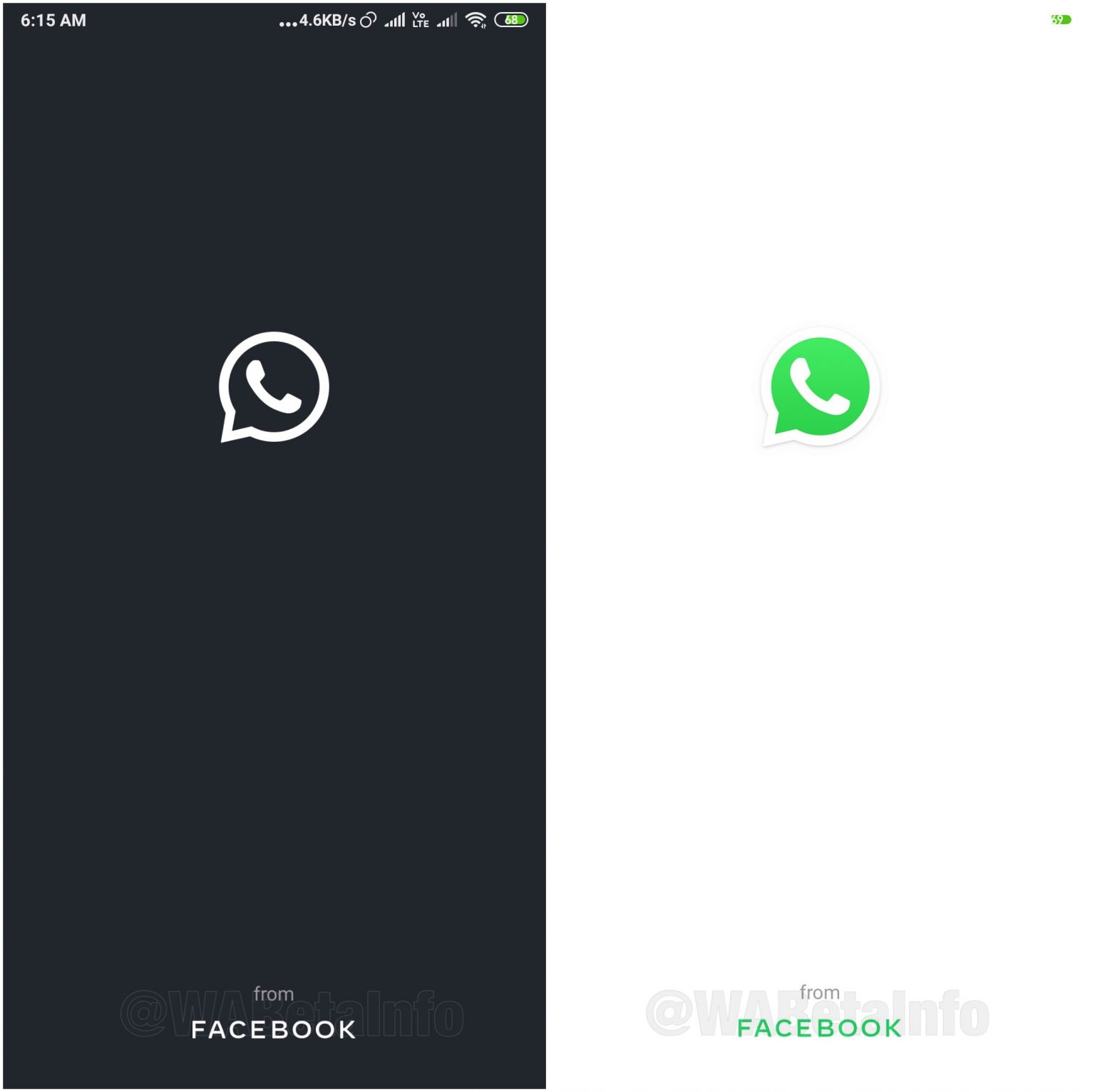 WhatsApp tryb ciemny motyw dark mode kiedy w aplikacji na Androida iOS