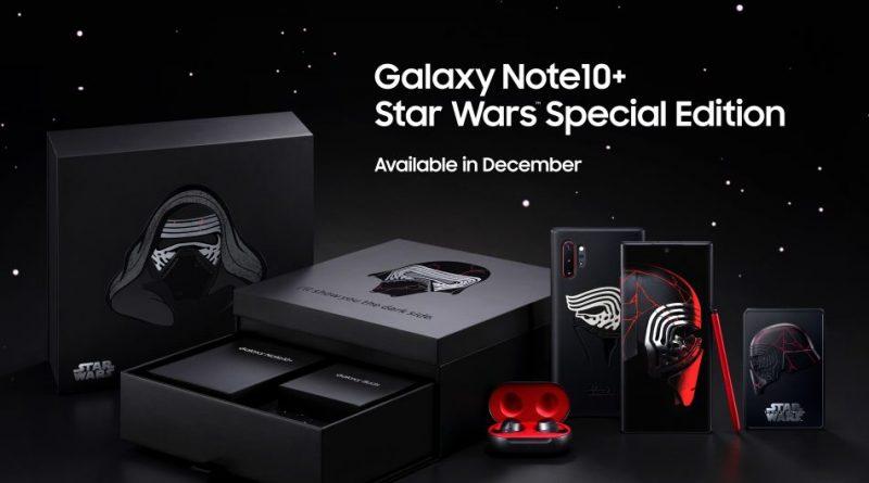 Samsung Galaxy Note 10 Plus Star Wars Special Edition Gwiezdne Wojny Skywalker Odrodzenie