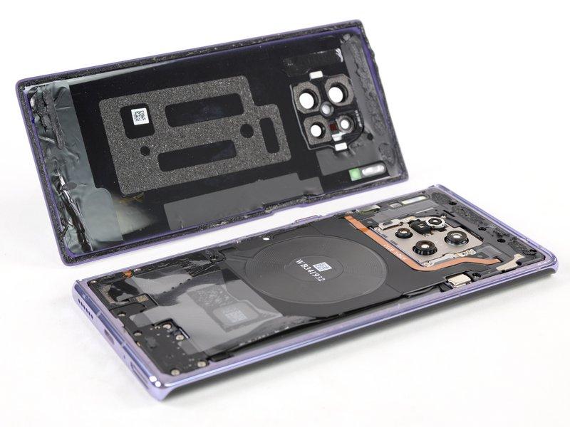 Naprawa Huawei Mate 30 Pro ocena iFixit opinie