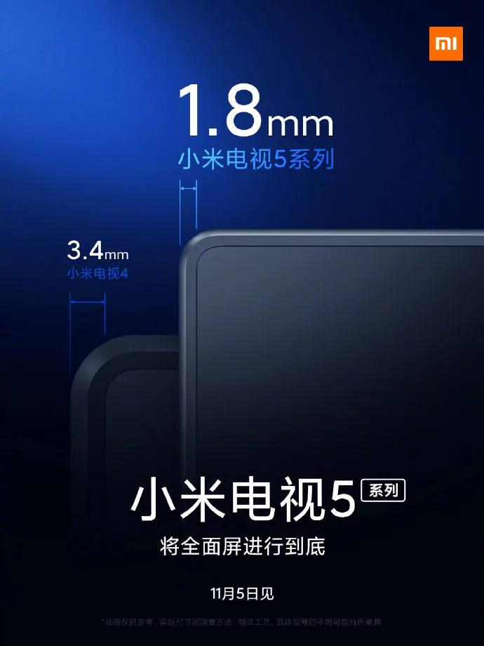 Telewizor Xiaomi Mi TV 5 kiedy premiera plotki przecieki wycieki design specyfikacja techniczna