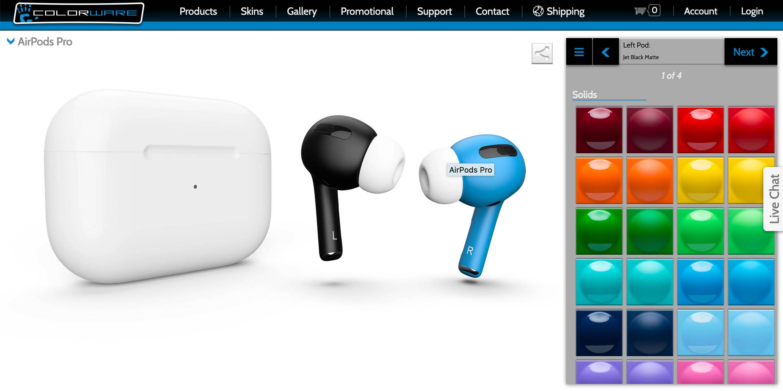 czarne AirPods Pro cena gdzie kupić słuchawki bezprzewdoowe Apple w Polsce opinie