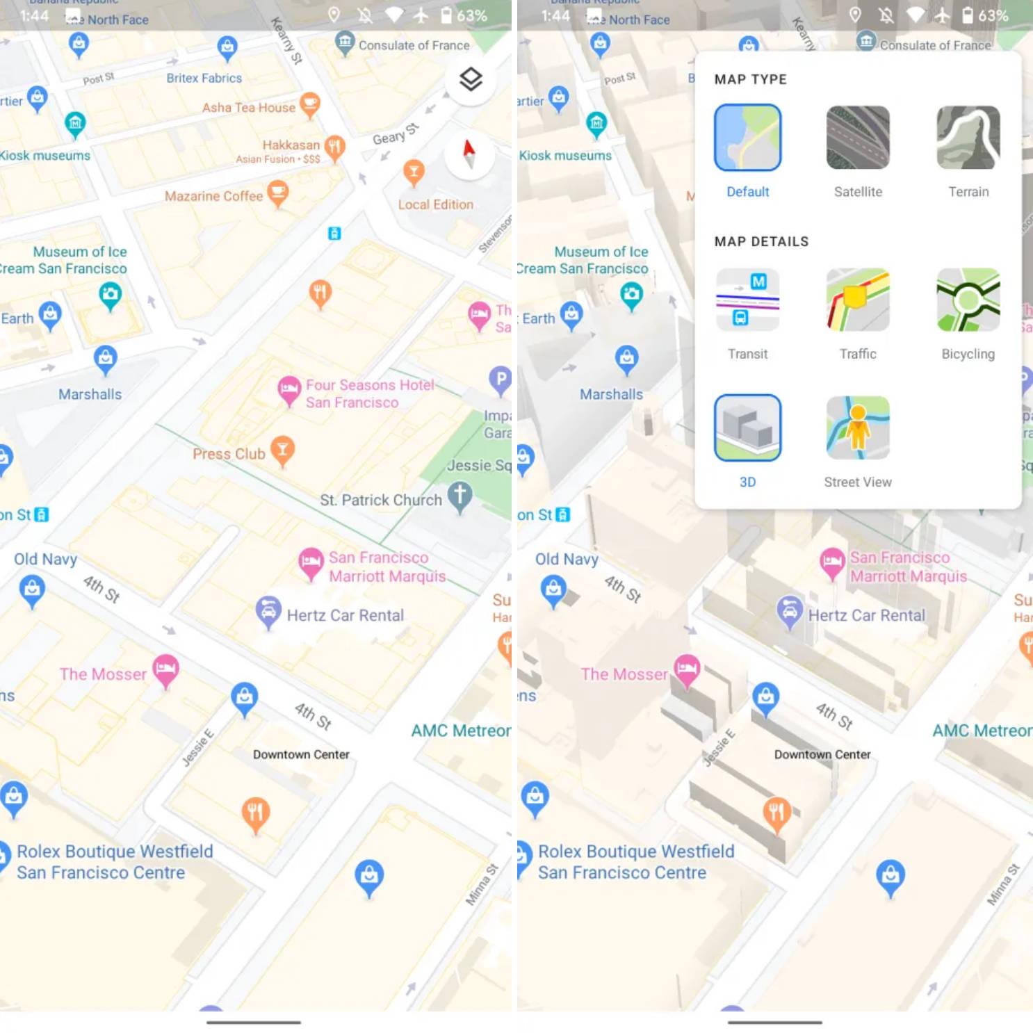 Mapy Google Maps warstwy 3D rekomendacje dla ciebie lokalni przewodnicy