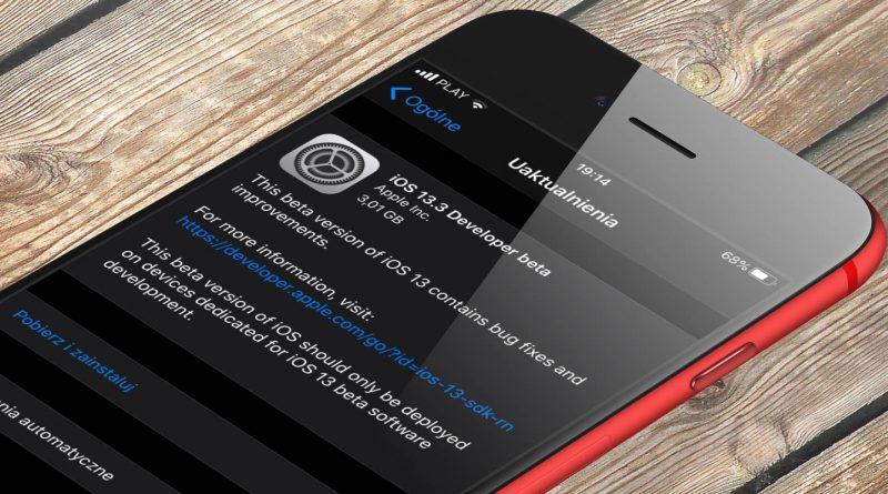 iOS 13.3 beta 3 co nowego aktualizacja Apple iPhone nowości nowe funkcje