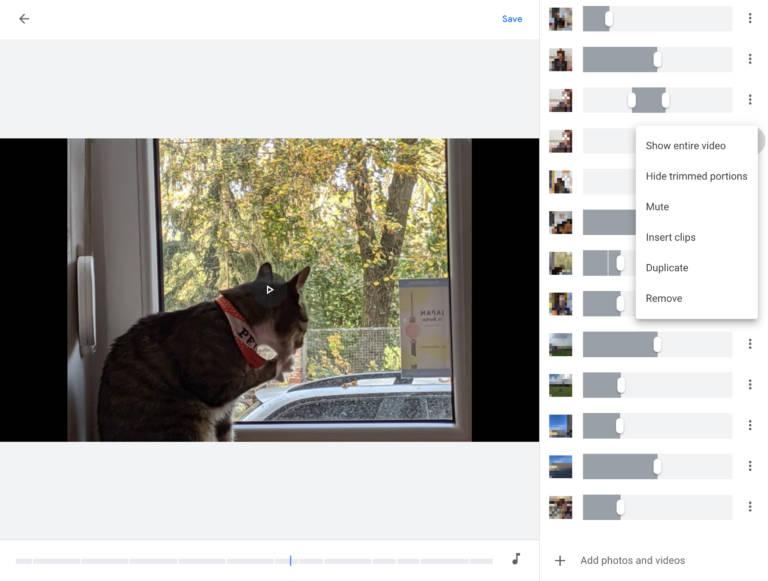 Zdjęcia Google dostają edytor wideo filmów