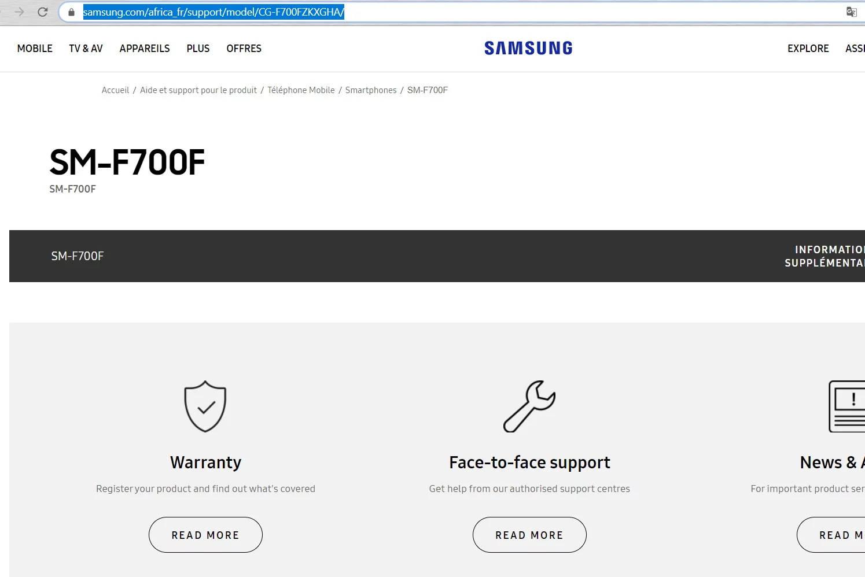 Samsung Galaxy Fold 2 SM-F700F składany smartfon kiedy premiera plotki przecieki wycieki