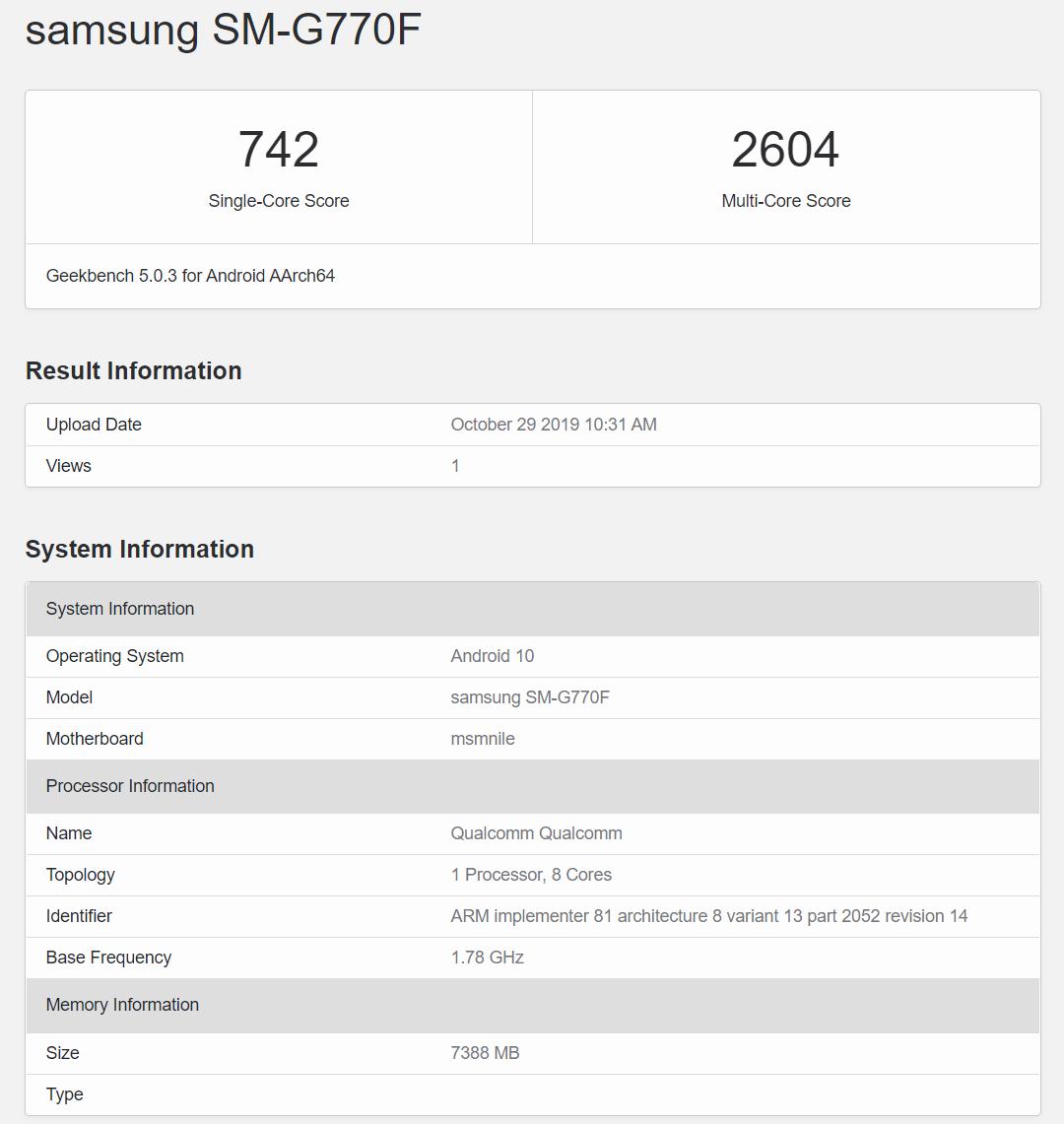Samsung Galaxy S10 Lite kiedy premiera plotki przecieki wycieki specyfikacja techniczna