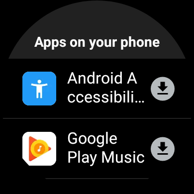 Aktualizacja Google Play Sklep z aplkacjami na smartwatche z Wear OS wearables