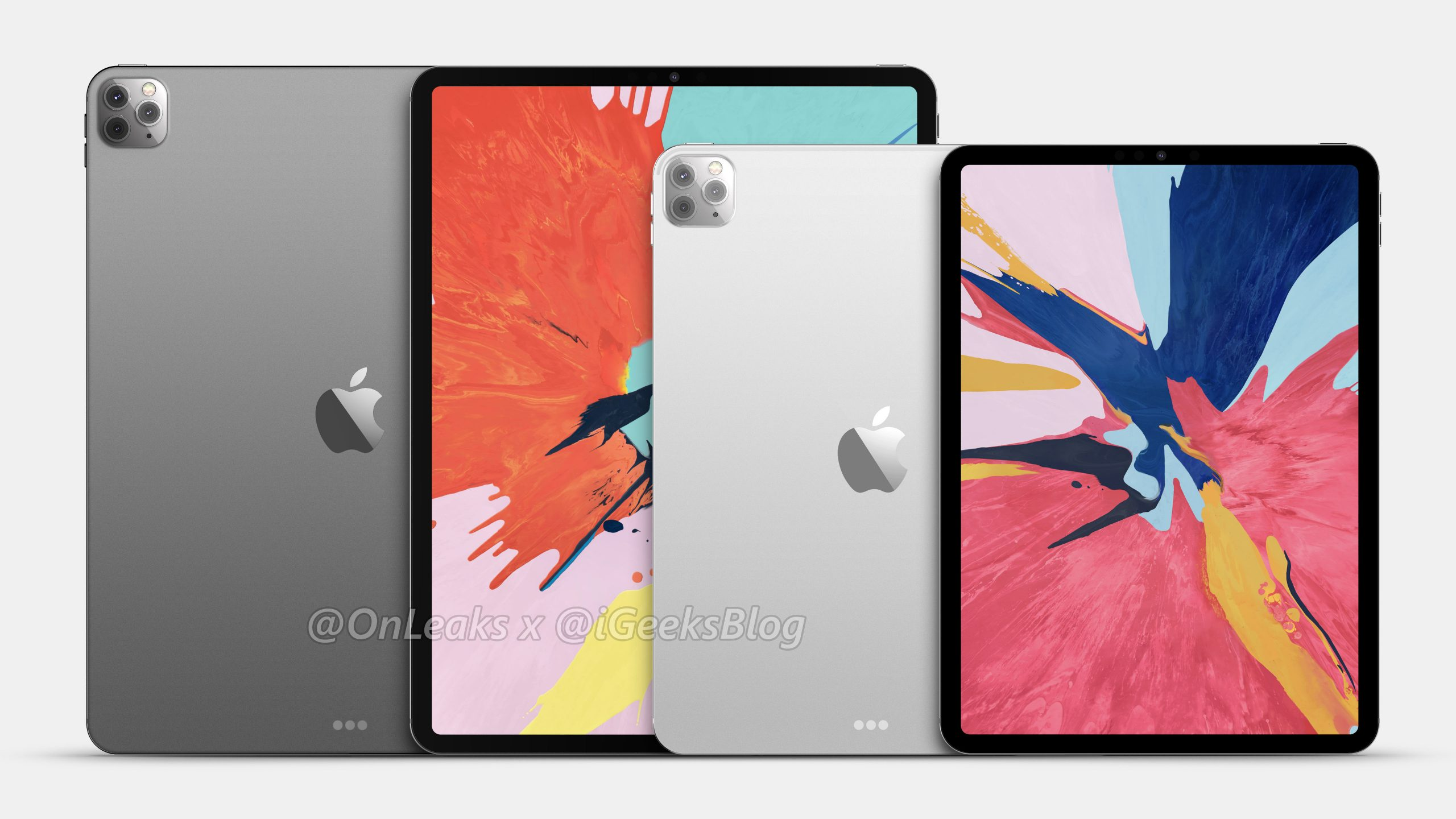 Apple nowy iPad Pro 2020 rendery aparat jak iPhone 11 Pro tablety specyfikacja dane techniczne kiedy premiera iPhone 9