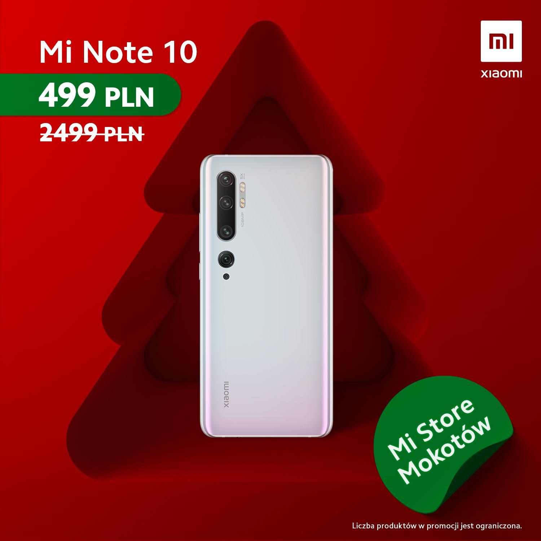 promocja Xiaomi Mi Note 10 Mi Band 4 Redmi Note 7 Mi Air Purifier 2H w MI Store Galeria Mokotów