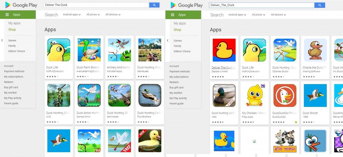 nowe aplikacje gry w Sklep Google Play nie pokazują się błąd problemy