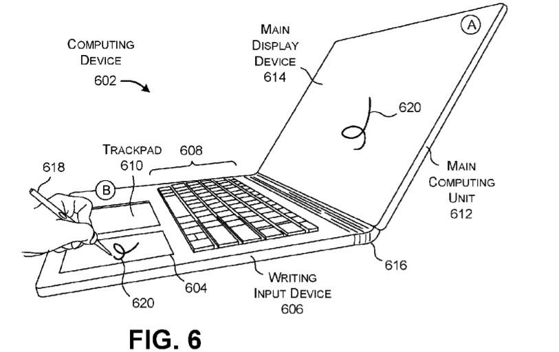 Microsoft Surface Book 3 kiedy premiera plotki przecieki wyciek patent panel do rysowania
