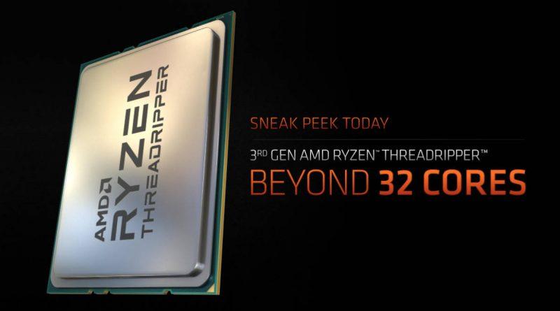 AMD Ryzen Threadripper 3980X procesor 48-rdzeniowy informacje kiedy premiera plotki przecieki