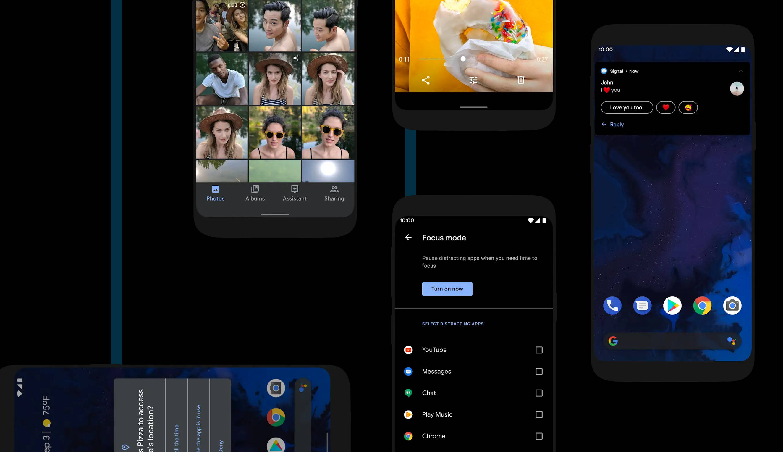 Android 11 R dark mode harmonogram tryb ciemny motyw kiedy Android Pie