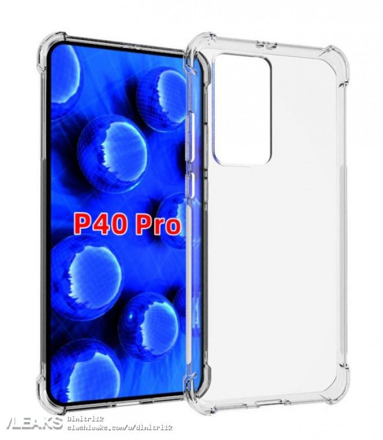 etui dla Huawei P40 Pro plotki przecieki wycieki design aparat kiedy premiera specyfikacja dane techniczne
