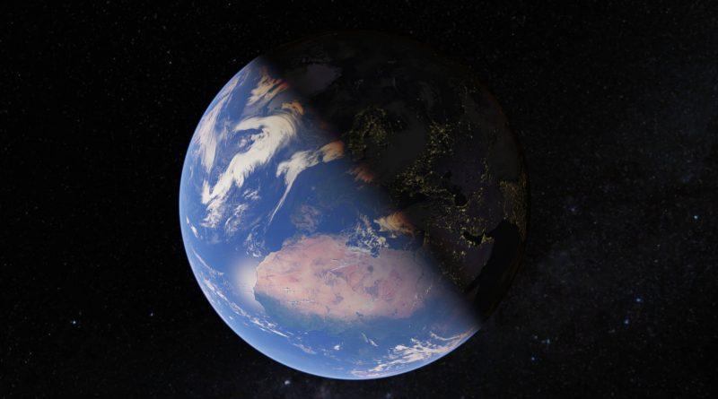 Mapy Google Maps nowa animacja zmiana planety