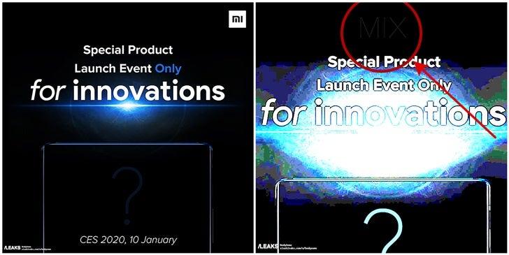 Xiaomi Mi Mix 4 Mi 10 Pro kiedy premiera plotki przecieki wycieki data premiery CES 2020
