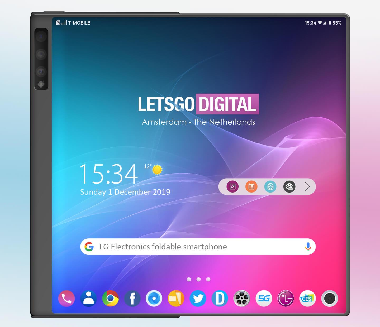 Składany smartfon LG kopia Huawei Mate X opinie kiedy premiera