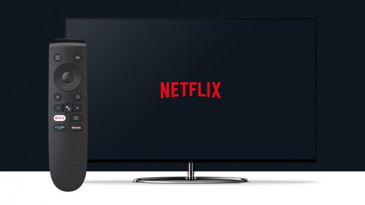 OnePlus TV aktualizacja aplikacja Netflix nowy pilot zdalnego sterowania Android TV