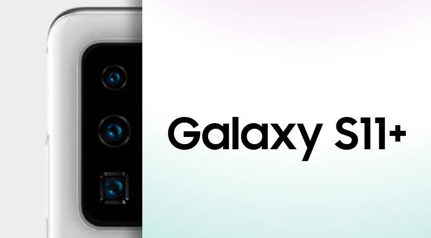 Samsung Galaxy S11 Plus aparat peryskopowy obiektyw plotki przecieki wycieki specyfikacja dane techniczne kiedy premiera zdjęcia 12 MP Huawei P40 Pro zoom Samsung Galaxy Fold 2