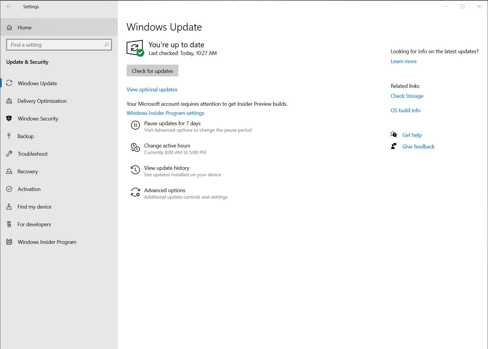 Windows 10 2004 opcjonalne aktualizacje sterowniki