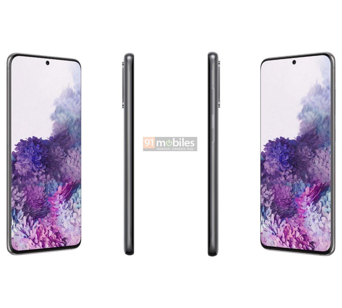 Samsung Galaxy S20 Plus cena plotki przecieki wycieki specyfikacja dane techniczne kiedy premiera rendery