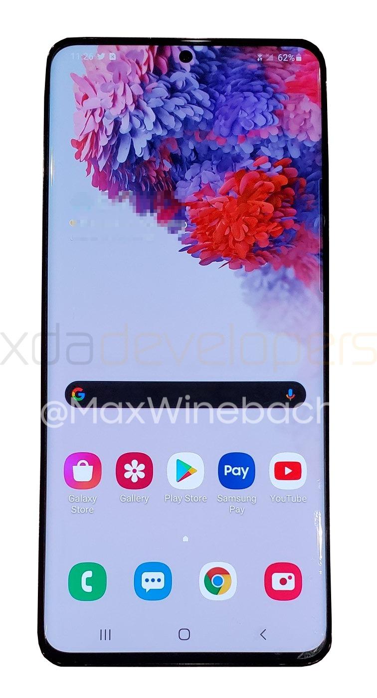 Samsung Galaxy S20 Plus 5G zdjęcia plotki przecieki wycieki specyfikacja dane techniczne