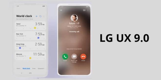 LG UX 9.0 Android 10 kiedy aktualizacja dla V50 G8X G7 Q60 K50S K40S K50