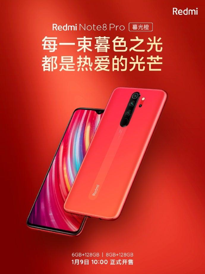 Redmi Note 8 Pro nowe kolory Twilight Orange Xiaomi opinie gdzie kupić najtaniej w Polsce