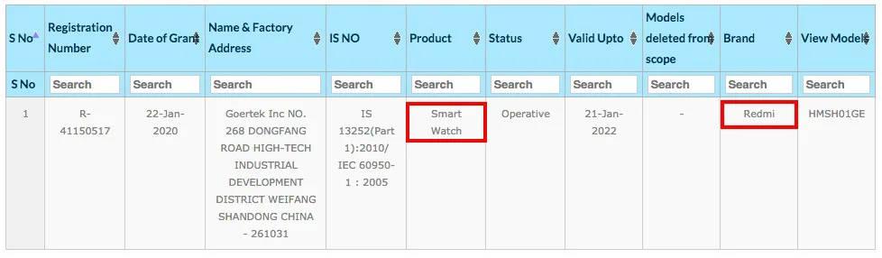 smartwatch Redmi Watch Xiaomi Mi Watch plotki przecieki wycieki kiedy premiera