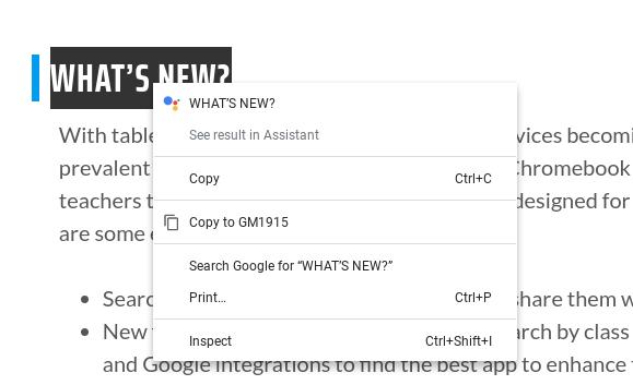 Asystent Google szybkie odpowiedzi Chrome OS 81 Canary