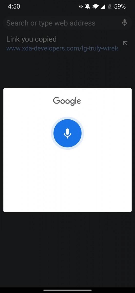 Asystent Google Chrome na Androida integracja wyszukiwanie głosowe