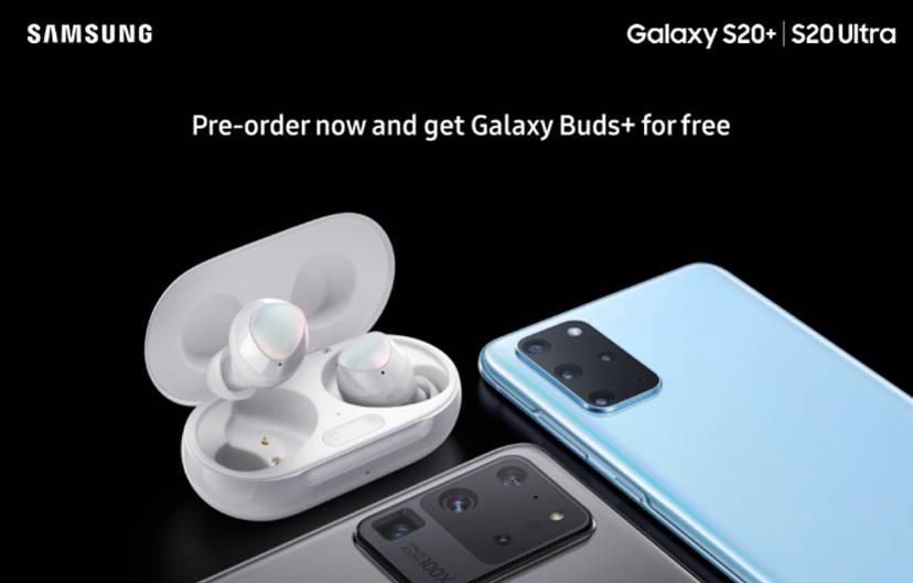 przedsprzedaż Samsung Galaxy S20 cena gratis słuchawki Galaxy Buds Plus plotki przecieki wycieki