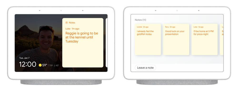 Asystent Google nowe funkcje CES 2020 inteligentne ekrany szybkie wybieranie karteczki tryb czytania planowanie działań