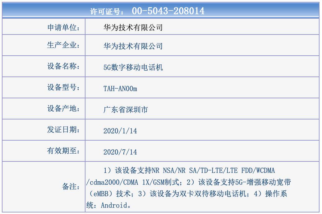 Huawei Mate Xs TENAA kiedy premiera składany smartfon plotki przecieki wycieki dane techniczne specyfikacja