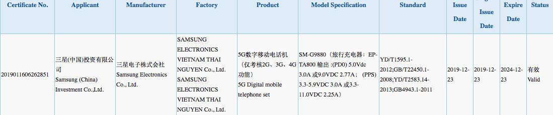 Samsung Galaxy S20 Ultra Galaxy S11 Plus plotki przecieki wycieki specyfikacja dane techniczne kiedy premiera jaki aparat