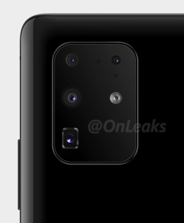 Samsung Galaxy S20 Ultra 5G jaki aparat 108 MP specyfikacja dane techniczne plotki przecieki wycieki Galaxy S11 zoom